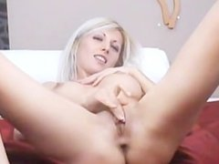 blonde shows pussy for money 56