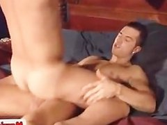 Cute asian studs fucking on bed part6