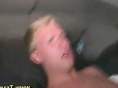 Watch gay guy cum after jerking off