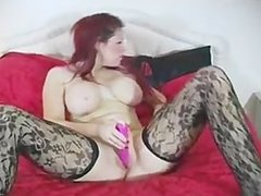 Lauren Langley British anal vibrator goddess
