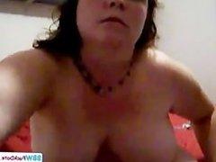 Slutty Fat Teen Masturbating