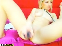 Swedish Hot Blond Masturbating HD