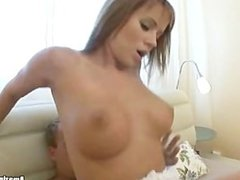 Hot Chick suck and rides on cock