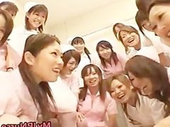 Asian nurses enjoy sex on top part2