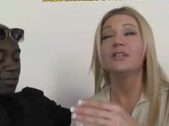 Hot Blonde Mom Pays with IR Blowjob