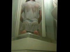 21 yo thong boy toy anal in shower