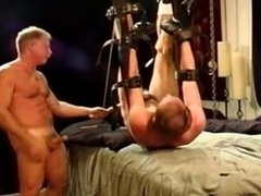 CBT while hanging from ankles and wrists