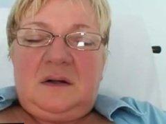 Natural big tits bizarre masturbation in hospital