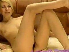 MILF Fingers Pussy On Webcam