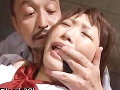 Cute school girl Rin Momoka fucked part4