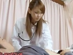 Hot Japanese Doctor has sex part4