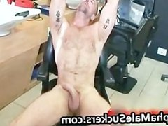 Horny hardcore gay fucking and sucking part1