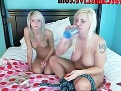 2 Hot Webcam Girls Tie Each Other Up Part 3