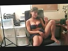 Sexy Babe smokes and plays with her pussy
