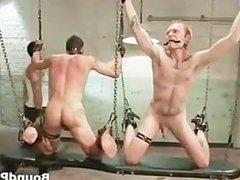 Hardcore gay BDSM porn clip with Tristan part1
