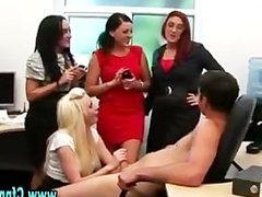 Cfnm femdom fetish sluts suck cock