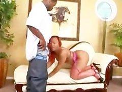 Big ass black girl rammed by her boyfriend_Luscious Louis