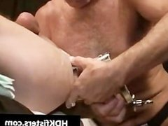 Gay dude gets his tight anus fisted part3