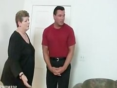 Mature and girl blow-job 5