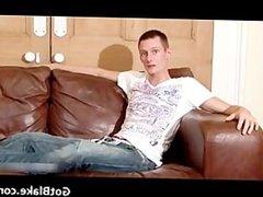 Ricky J masturbating on a sofa part6