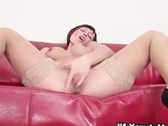 Horny mature lady loves to finger fuck part5
