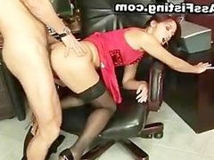 Horny whore gets her gaping asshole part6