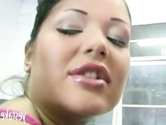 Angelica Heart gets her anal tightness tested by a hard dick