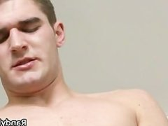 Brenden Butler jerking his fine gay cock part4