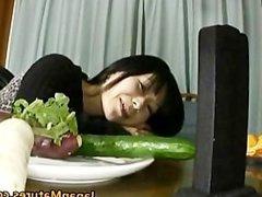 Japanese MILF enjoys masturbation part2