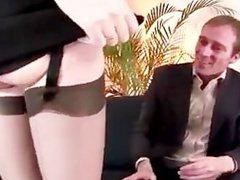 Watch amateur mature bitch in stockings