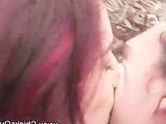 Real amateur couple outdoor fuck cumshot