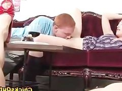 Watch real sexy redhead couple