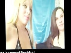 Amateur sexy lesbian babe dildoing tight part2