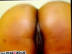 Black chick with big tits and big booty