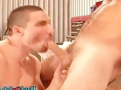 Hunky stud gets his hard fat cock sucked part4