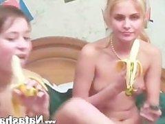 Two russians Sasha and Natasha