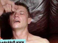 Gay bukkake dp fuck suck and cum facial