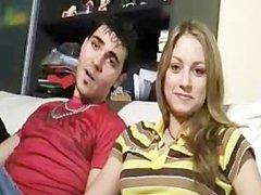 Spanish amateur couple