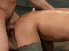 Gay BDSM threesome video 3 by BoundPride part2