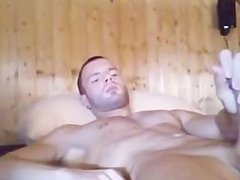 wow man with big dick masterbate and cum