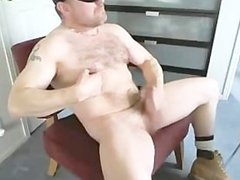 hot hairy bear masterbate and cim