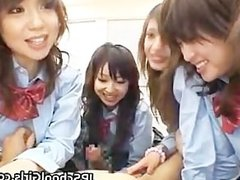 Asian schoolgirls are having a massive part5