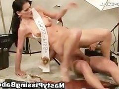 Slutty whore gets her tight pussy fucked part2