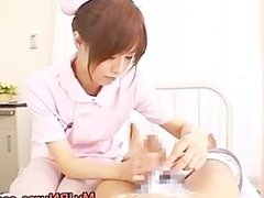 Amazing Asian nurse enjoys sex part4