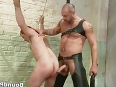 Hardcore gay guys in extreme gay BDSM part1
