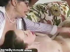 Milf gets her turn on his young hard cock