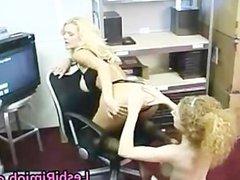 Redhead lesbian slut gets ass licked part1