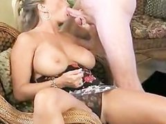 Amber works dick for cum