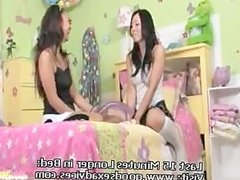 asian teen ariel spinner fucks a hot lesbian pussy