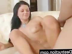 Monster cock deep up daughters ass